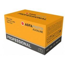 Batterier 40 stk AgfaPhoto Professional Alkaline batteri - AAA, 1,5V