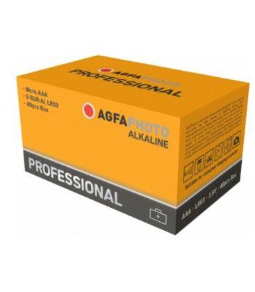 AAA 40-pak AgfaPhoto Professional batteri - Alkaline, 1,5V