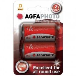 El-produkter D/MN1300 2-pak AgfaPhoto batteri - Alkaline, 1,5V