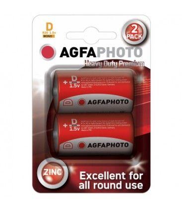D/MN1300 2-pak AgfaPhoto batteri - Alkaline, 1,5V