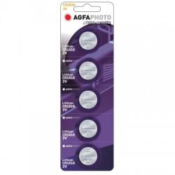 CR1616 5-pak AgfaPhoto knappbatteri - Lithium, 3V
