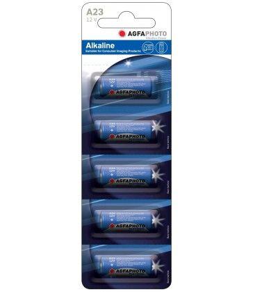 LR23A/A23 5-pak AgfaPhoto batteri - Alkaline, 12V