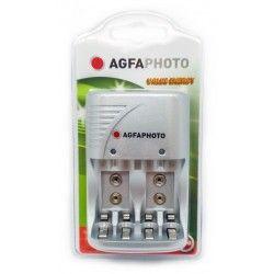 El-produkter 1 stk AgfaPhoto upplader - till uppladdningsbartt batteri