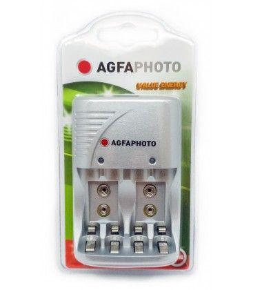 1 stk AgfaPhoto upplader - till uppladdningsbartt batteri