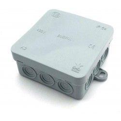 Kopplingsbox - 8,5 x 8,5 x 3,7 cm, IP54 stänksäker