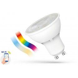 5W Smart Home LED lampa - Fungerar med Google Home, Alexa och smartphones, GU10