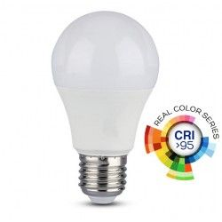 LED Lampor V-Tac 10W LED lampa - A60, E27, RA 95
