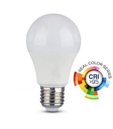 V-Tac 10W LED lampa - A60, E27, RA 95