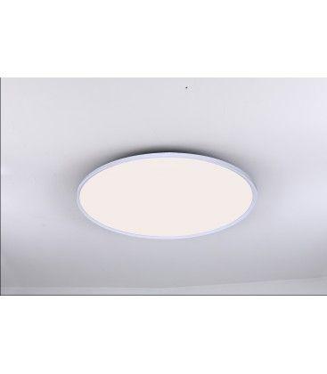 LEDlife 40W LED rund panel - 100 lm/W, Ø60, vit, inkl. monteringsfäste