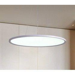 LEDlife 40W LED rund panel - 100 lm/W, Ø60, vit, inkl. wireupphäng