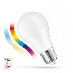 Smart Home Enheder 9W Smart Home LED lampa - Verk med Goochle Home, Alexa og smartaphones, E27, A60