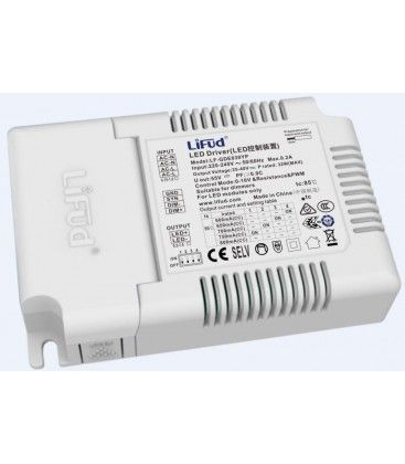 Lifud 32W dimbar LED driver - 600-800 mA