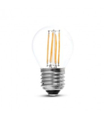 V-Tac 4W LED lampa - G45, Filament, E27