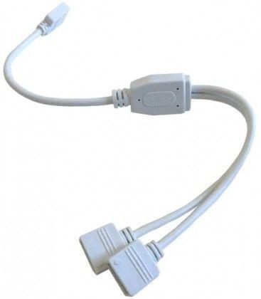 RGB+WW kabel 2-vägs splitter - 12/24V, vit