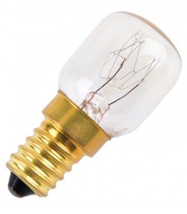 Klar E14 25W ugnslampa - Traditionel lampa, 180lm, S25