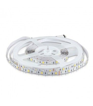 V-Tac 10,8W/m RGB+NW LED strip - 5m, 60 LED per. meter