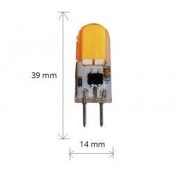 LEDlife KAPPA3 LED lampa - 3W, dimbar, 12V-24V, GY6.35