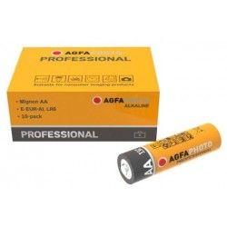 El-produkter AA 10-pak AgfaPhoto Professional batteri - Alkaline, 1,5V