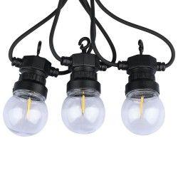 Trädgårdslampor V-Tac LED ljusslinga med 10 stk. 0,4W lampor - 5 meter, IP44, 230V, inkl. ljuskälla