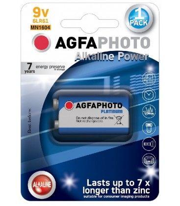 B1 1 stk AgfaPhoto batteri - Alkaline, 9V