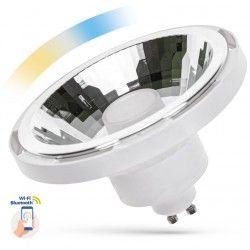 G53 AR111 LED 10W Vit Smart Home LED spotlight - Fungerar med Google Home, Alexa och smartphones, GU10 AR111