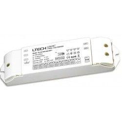 El-produkter Ltech 30W dimbar driver till LED panel - Triac+ push-dim, flicker free, passar till 6W och 12W LED downlight och stora 29W panel