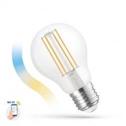 E27 LED 5W Smart Home LED lampa - Fungerar med Google Home och Alexa E27, A60
