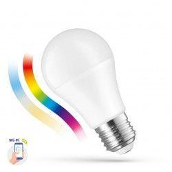 E27 LED 13W Smart Home LED lampa - Fungerar med Google Home, Alexa og smartphones, E27, A60