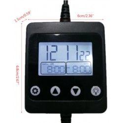 24V trappbelysning LED Timer med DC-kontakt - 12/24V, max 150W