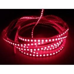 LED strip Röd 670 nm 4,8W/m LED strip - 5m, IP20, 60 LED per. meter