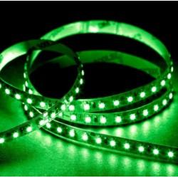 LED strip Grön 525 nm 4,8W/m LED strip - 5m, IP20, 60 LED per. meter