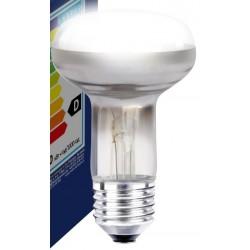 Gammaldags glödlampor Klar E27 60W strålkastar glödlampa - Traditionel lampa, 400lm, dimbar, R63