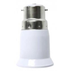 B22 LED B22 till E27 adapter