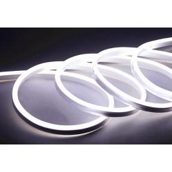 230V Neon Flex Kallvitt 8x16 Neon Flex LED - 8W per. meter, IP67, 230V