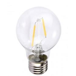 E27 LED Lagertömning: 2W LED lampa - Filament, E27, A60
