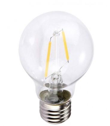 Lagertömning: 2W LED lampa - Filament, E27, A60