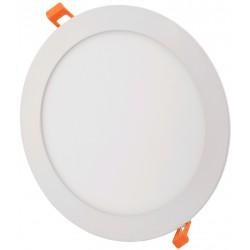 LED paneler 18W LED downlight - Hål: Ø20,2 cm, Mål: Ø22 cm, 230V