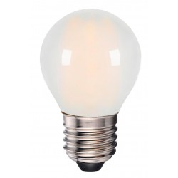 E27 LED 4W LED lampa - 3-trin dimbar, on/off dimbar, matteret, 230V, E27