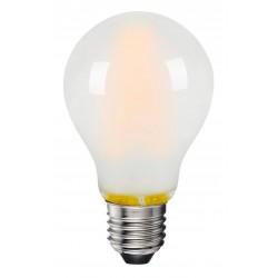 E27 LED 8W LED lampa - 3-trin dimbar, on/off dimbar, matteret, 230V, E27