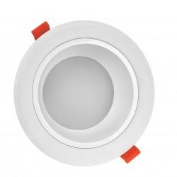 Downlights 15W LED spotlight - Hål: Ø13 cm, Mål: Ø15 cm, 230V, IP44 våtrum & takfot