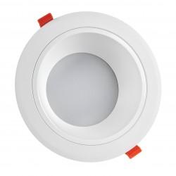 Downlights 20W LED spotlight - Hål: Ø17 cm, Mål: Ø19 cm, 230V, IP44 våtrum & takfot