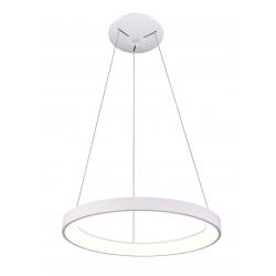 LED takpendel LEDlife Nordic48 Dimbar LED lampa - Modernt och indriekt ljus, Ø48, vit, inkl. upphäng