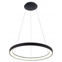 LED paneler LEDlife Nordic48 Dimbar LED lampa - Modernt och indriekt ljus, Ø48, svart, inkl. upphäng