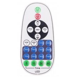 LED strip RF trådlös timer+dimmer med fjärrkontroll - Inkl. ändstycke, till 230V (Type Q), minnesfunktion