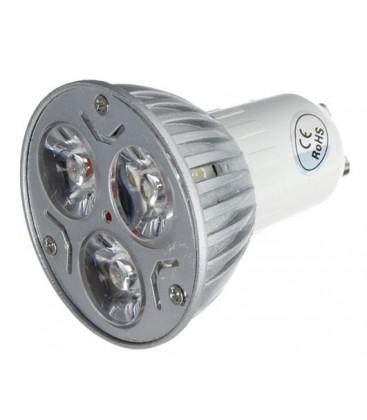 LEDlife TRI3 LED spotlight - 3W, extra varm 2400K, 230V, GU10