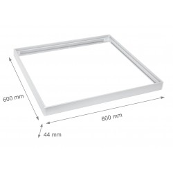 LED paneler Ram till 60x60 LED panel - Samlas snabbt, Plasthörn,Utan synliga skruvar