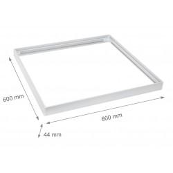 Stora paneler Ram till 60x60 LED panel - Samlas snabbt, Plasthörn,Utan synliga skruvar