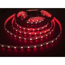 12V Infraröd 850 nm 4,8W/m LED strip - 5m, IP20, 60 LED per. meter