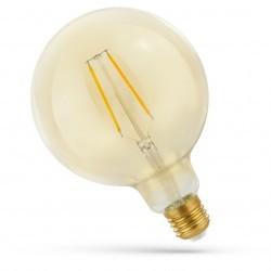 E27 Globe LED lampor 5,5W Smart Home LED globepære - Fungerar med Google Home, Alexa och smartphoness, Filament, G125, E27