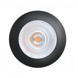 LEDlife Unni68 köksbelysning - Hål: Ø5,6 cm, Mål: Ø6,8 cm, RA95, svart, 12V